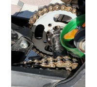 Front gear chain